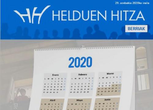 HH Berriak Aldizkaria- 2020ko Iraila - 29 garren zenbakia