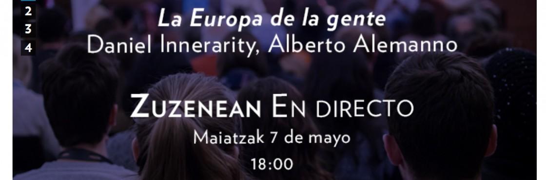 CONFERENCIAS EUROPA 2020: 7, 14, 21 DE MAYO. 18 :00